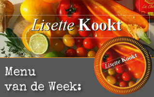 Menu van de Week
